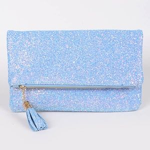 Crush diamond bling Clutch bag